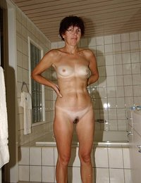 Nasty moms and hot housewives posing nude on camera