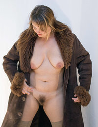 Only natural furry women