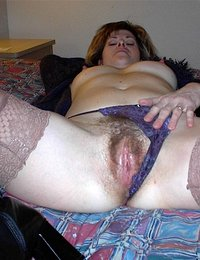 Pick a hairy wife to follow and enjoy her naughty company.